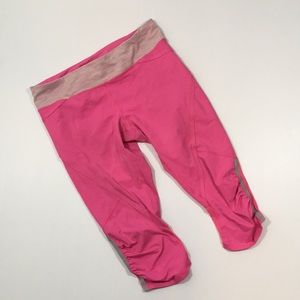 Lululemon Pink Capri Pants